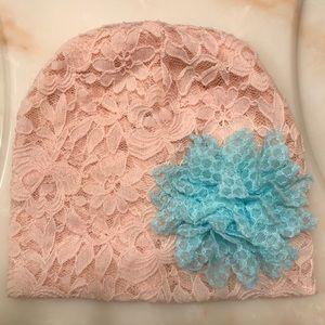 Toddler Girls Light Pink Beanie Hat